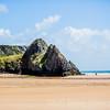 Three Cliffs from The Beach