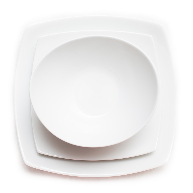 White Dinnerware works with any decor