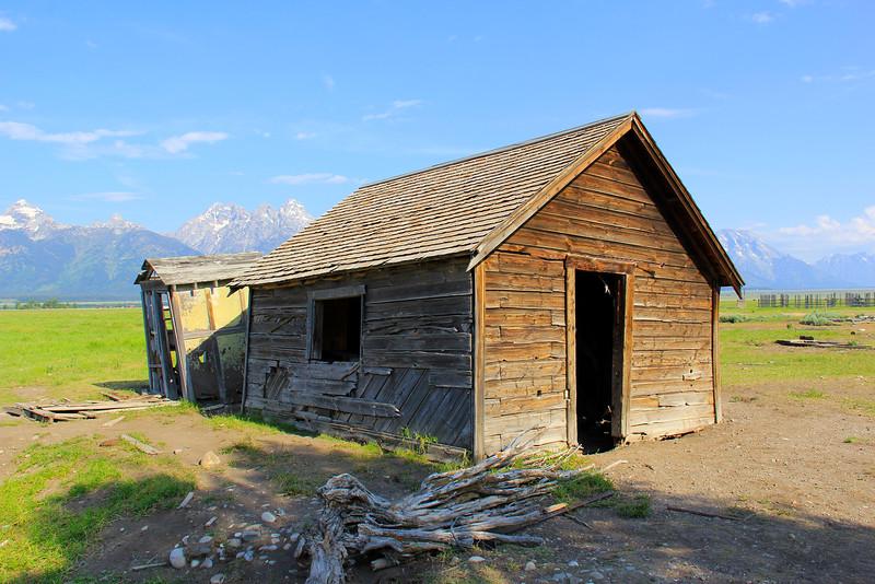 Morman Row - Grand Teton National Park