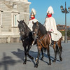 Palace Guards, Spain's Royal Palace, Madrid