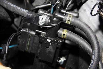 Fuel source solenoid