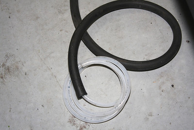 Hose in Hose to heat and carry cooking oil to engine