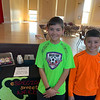 Braeden Cairns and James Leonard of Chelmsford enjoyed sampling the cupcakes.