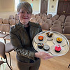 """""""Ace of Cupcakes"""" Joanne Stanway of Chelmsford shows off her great creations."""