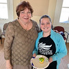 CCA board member Barbara Reilly with her adorable granddaughter, Rachel Fleming, both of Chelmsford