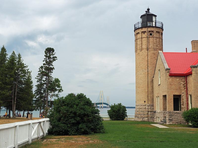 The Mackinac Island Lighthouse, Michigan