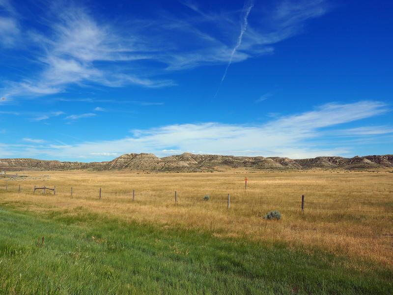 The Montana Badlands.