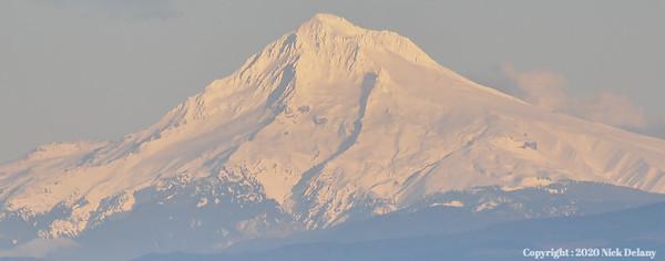 Mt Hood Peak