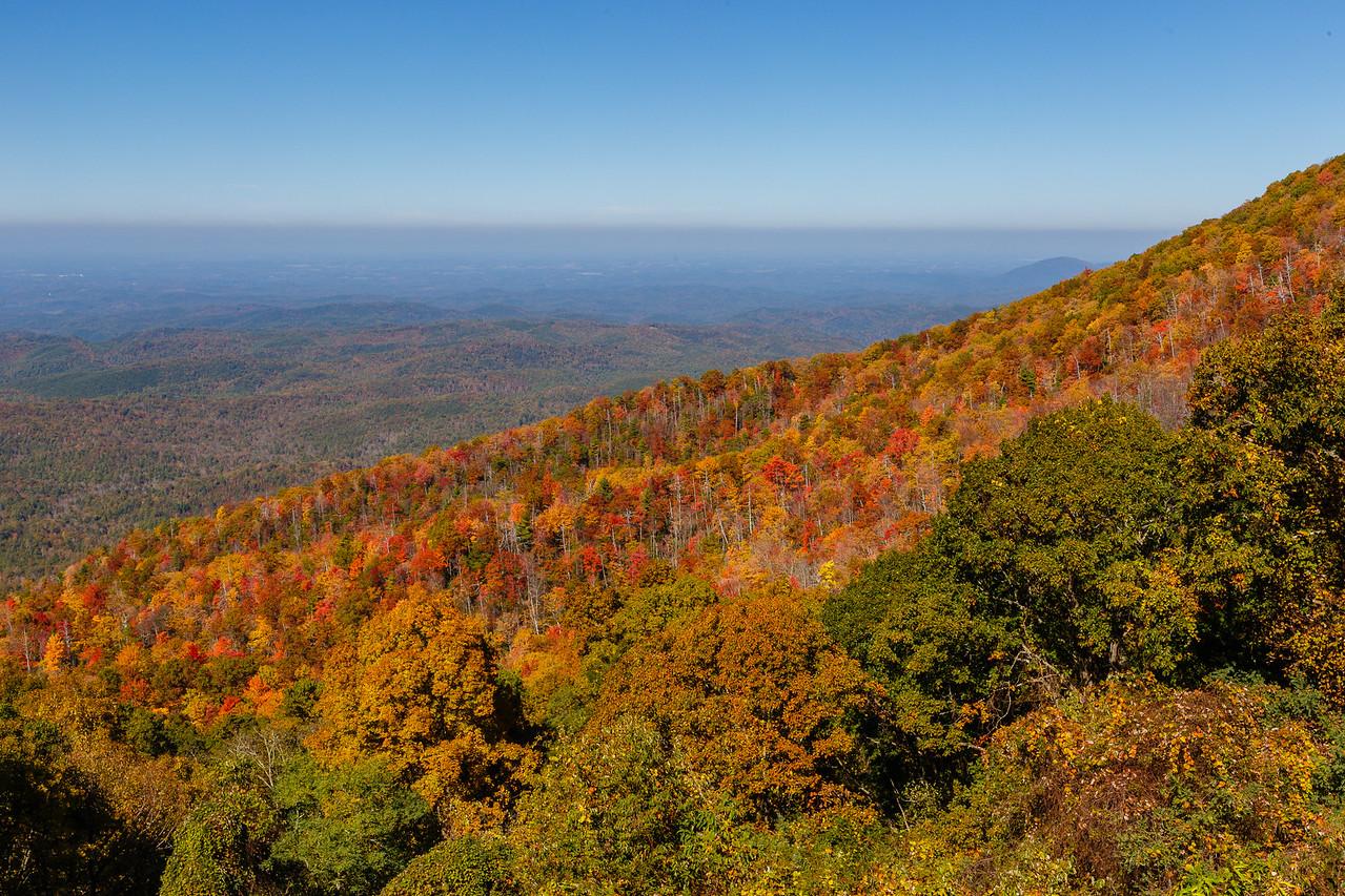 Cherohala Skyway view, Tennessee