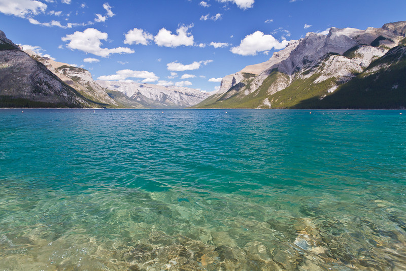 The Canadian Rockies have a vast supply of inviting waters surrounded by massive mountains. These lakes will stir your soul, or ignite your adventures!