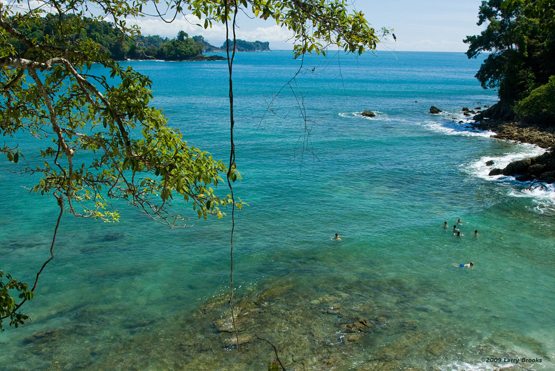 Crystal-clear waters of Manuel Antonio National Park