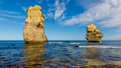 An incredible view from the beach below Gibson Steps - the Great Ocean Road