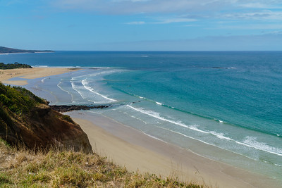 Above Bell's Beach, along the Great Ocean Road
