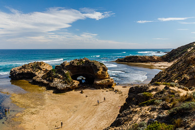 London Bridge on the Mornington Peninsula.