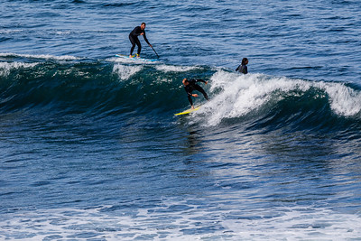 Surfing at Bells Beach - Great Ocean Road