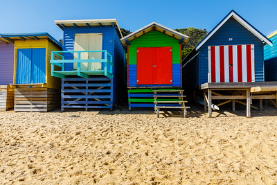 Mount Martha bathing boxes.