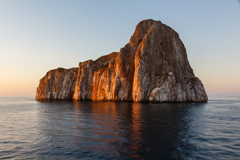Kicker Rock at sunset...a fitting end to a spectacular journey!