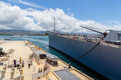 ...and the USS Missouri.