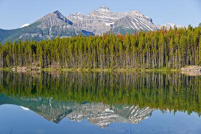 Herbert Lake reflections (photo by Kerry Brooks)
