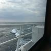 Choppy seas on the ferry to Isle Royale