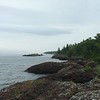 Lake Superior from our cabin near Copper Harbor