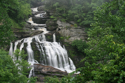 2007 July Cullasaja Falls