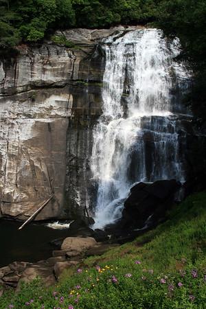 2007 July Rainbow Falls, Western NC