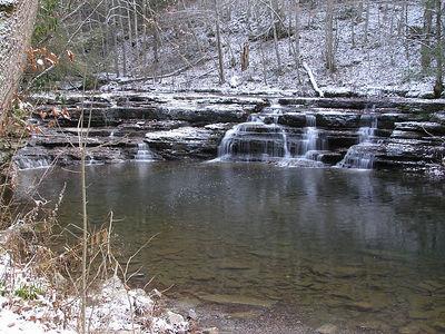 Campbell Falls, Camp Creek State Park, WV 2005 Dec