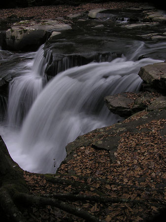 Dunloup Creek Falls, Thurmond, WV