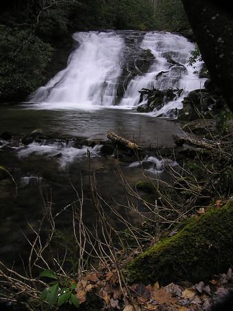 Indian Creek Falls, Great Smokey Mountain National Park, near Bryson City, NC
