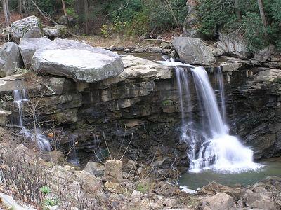 Unknown Falls, Cotton Hill, WV