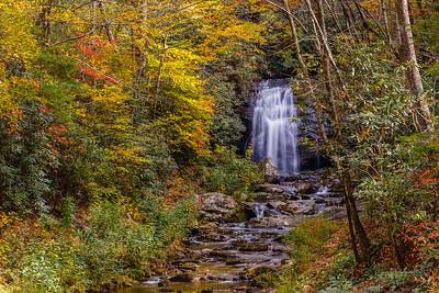 Meigs Falls, along the Little River Road