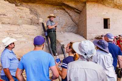 Rangers are a tremendous resource for learning about the ruins and natural history of the park.