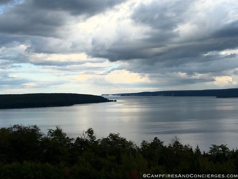 Scenic Viewpoint in Munising - Lake Superior