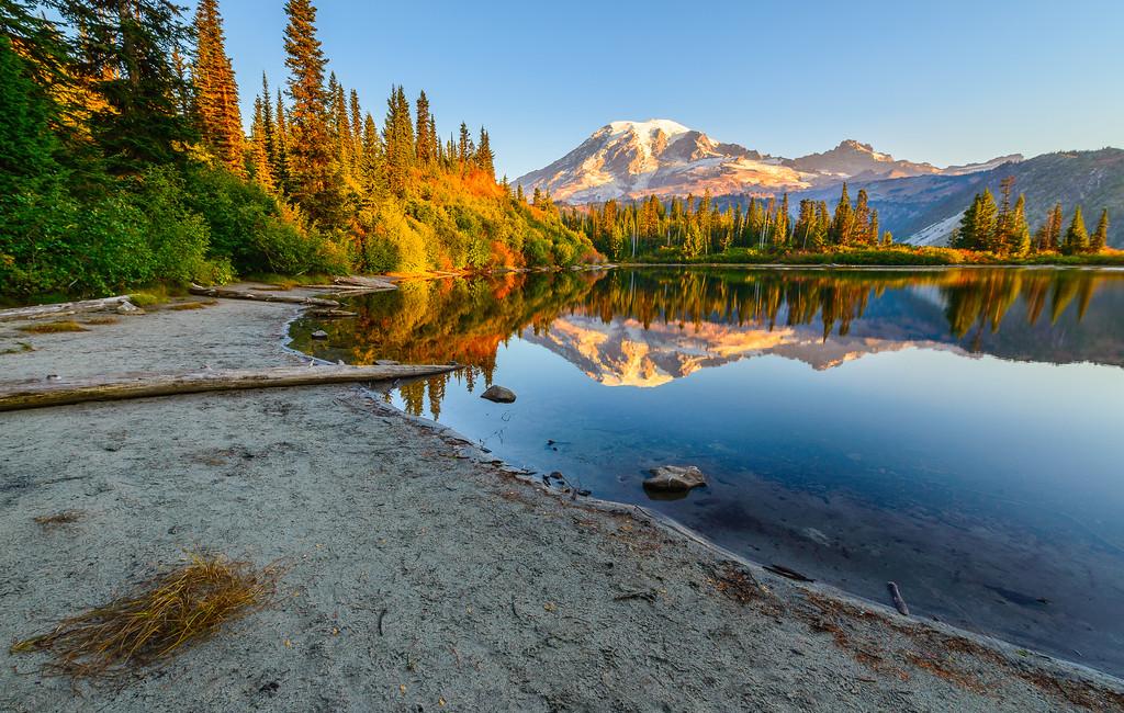 Bench Lake Autumn