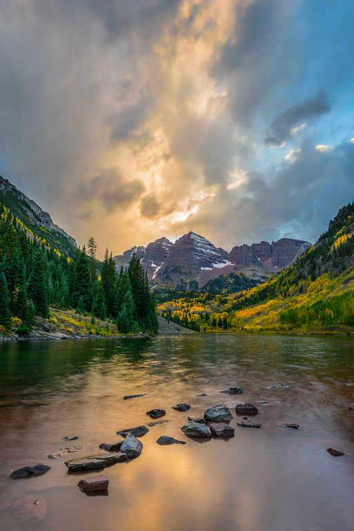 Fall Lights on Maroon Bells