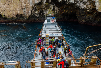 Arrivals at Anacapa Island, Channel Islands National Park