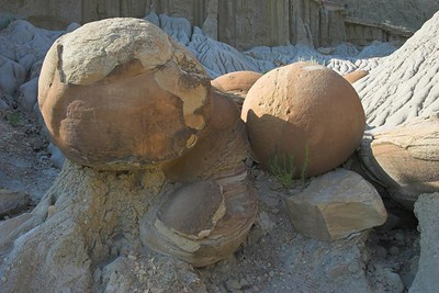 Cannonball Concretions at Theodore Roosevelt National Park (North Unit)
