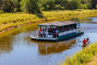 Airboat tour at Myakka River State Park