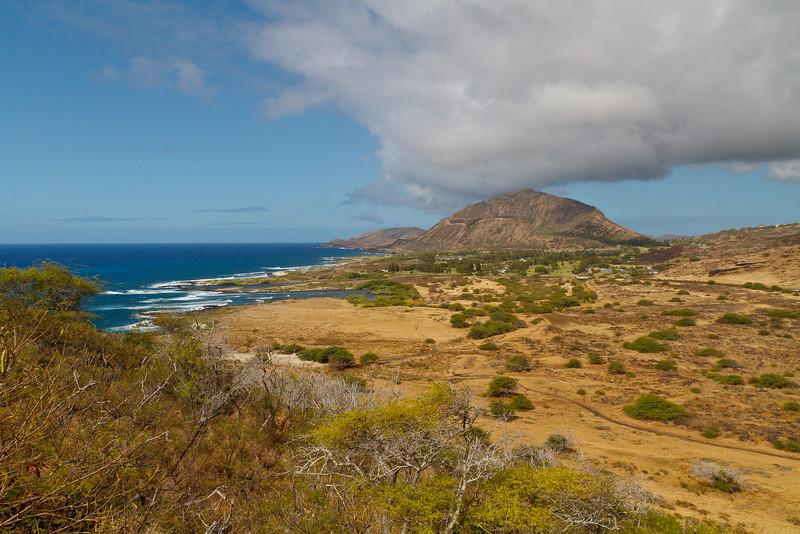 Koko Head from Makapuu Point (Oahu)