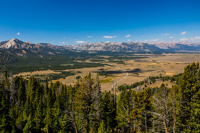 Galena Summit Overlook - the Sawtooth Range, along the Sawtooth Scenic Byway