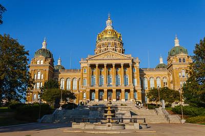 Iowa State Capital Building