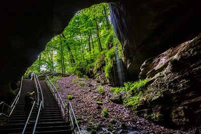 The Historical Entrance at Mammoth Cave National Park