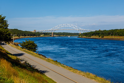 Sagamore Bridge and the Cape Cod Canal