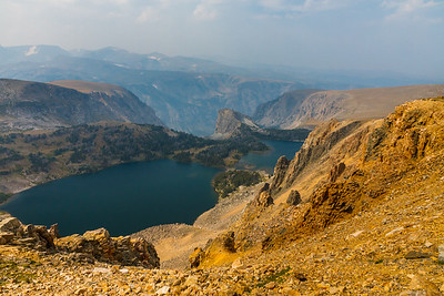 The view from Beartooth Pass