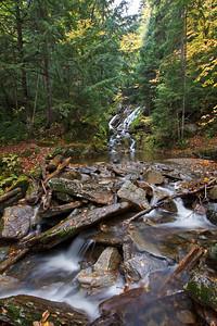 Hamilton Cascades in Dixville Notch State Park