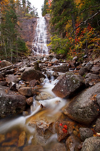 Arethusa Falls in Crawford Notch State Park