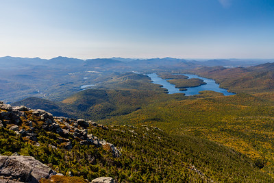Adirondack Park view from Whiteface Mountain