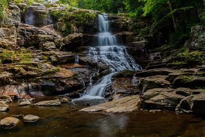 Shelving Rock Falls, Adirondack Park
