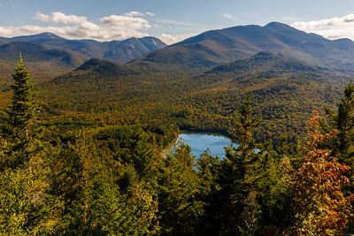 Adirondack Park, seen from the Mt Jo Trail